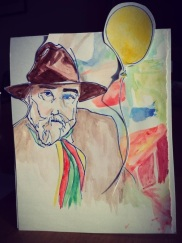 John Bellany 70th Birthday Card