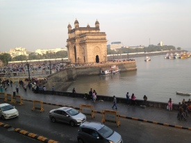 Gateway to India from window