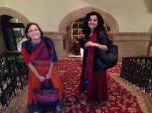Laura and Sunita